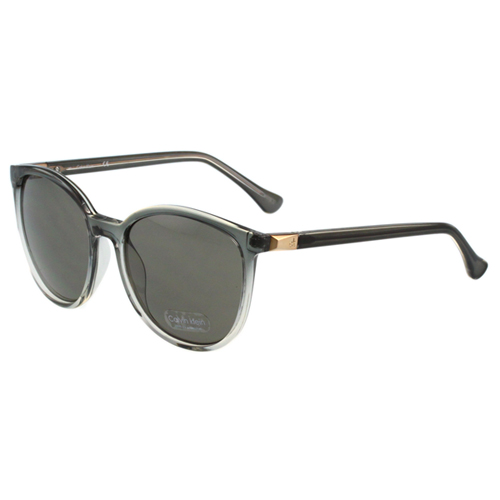Calvin Klein- 時尚太陽眼鏡(透明灰色)