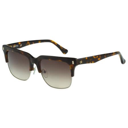 Calvin Klein- 帥氣太陽眼鏡(琥珀色)