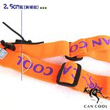 CAN COOL敢酷 25mm寬 運動號碼帶(無補給(橘紫) C160313005