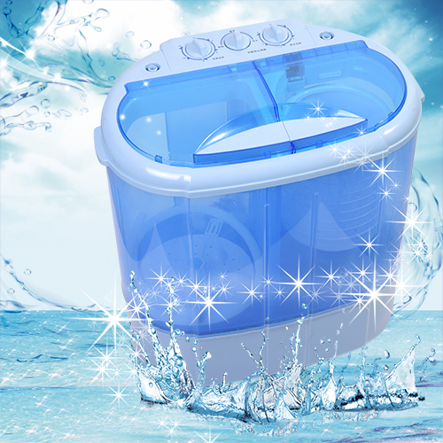 大河家電 迷你雙槽柔洗衣機