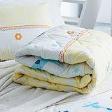 美夢元素 可愛頌 天鵝絨涼被床包組 雙人四件式