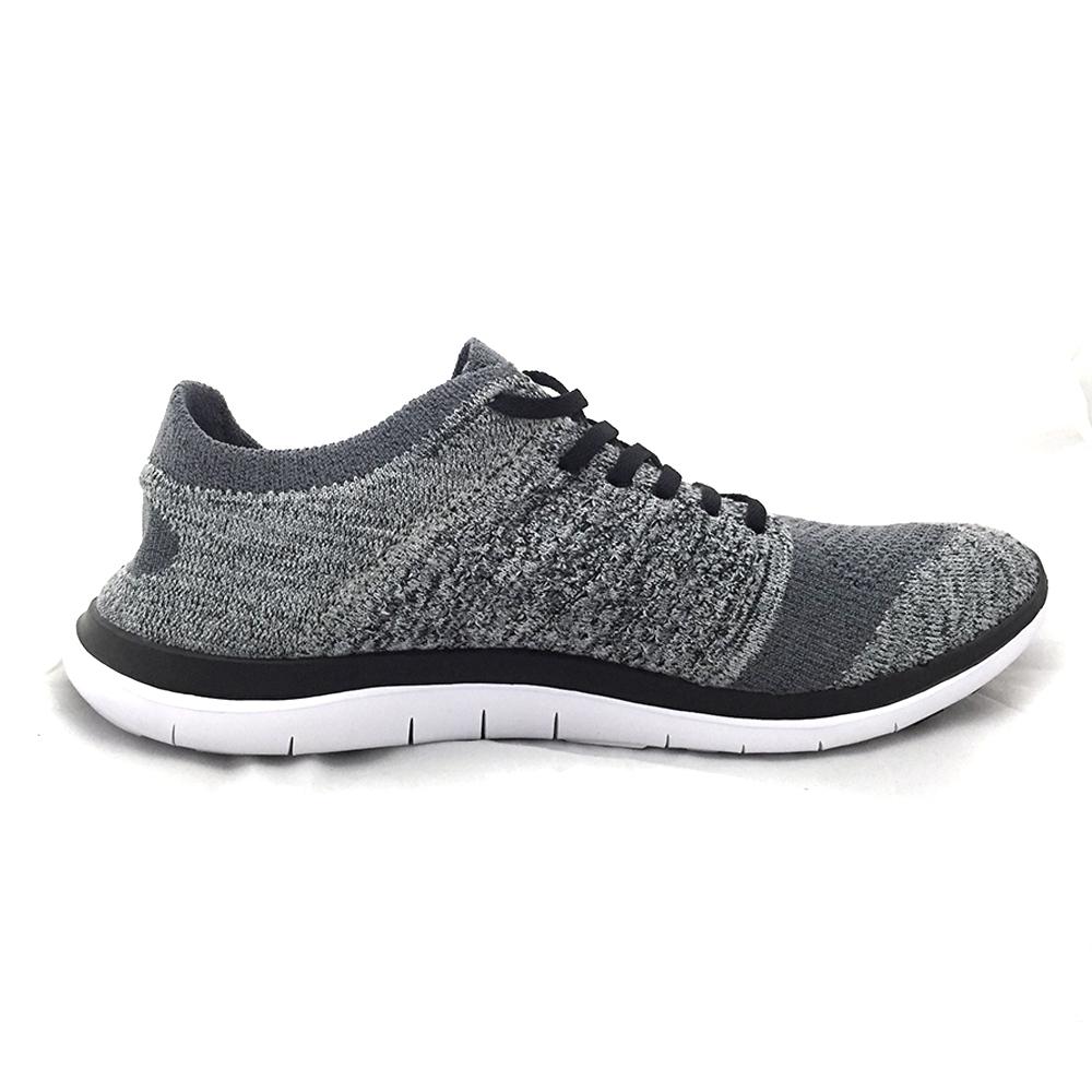 AIRWALK(男)- 城市運動系列 輕量透氣編織慢跑鞋 - 淺灰