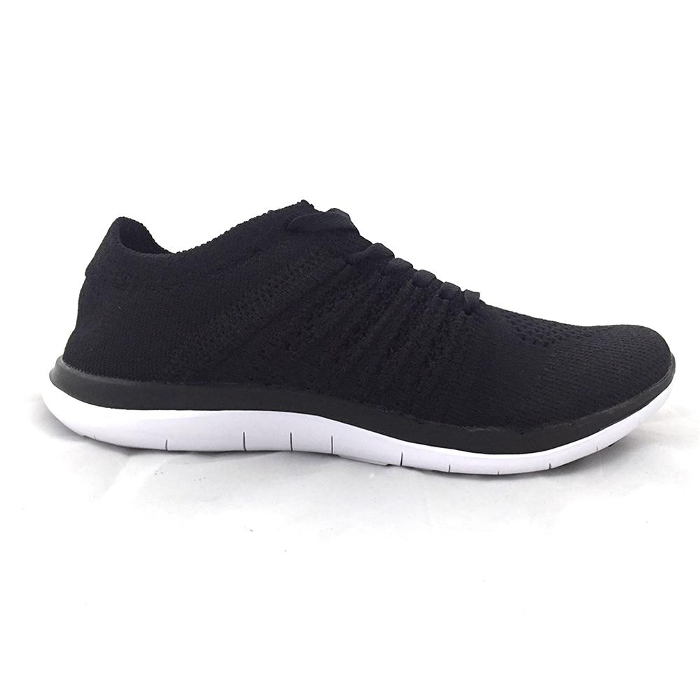 AIRWALK(女)- 城市運動系列 輕量透氣編織慢跑鞋 - 黑