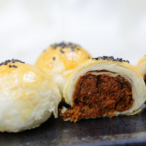 (白鵝山腳普一食品) 牛肉酥(12入)