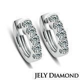 【JELY】TWINS 天然鑽石耳環