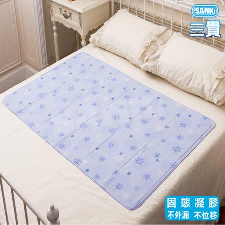 日本SANKi   雪花固態凝膠冰涼床墊