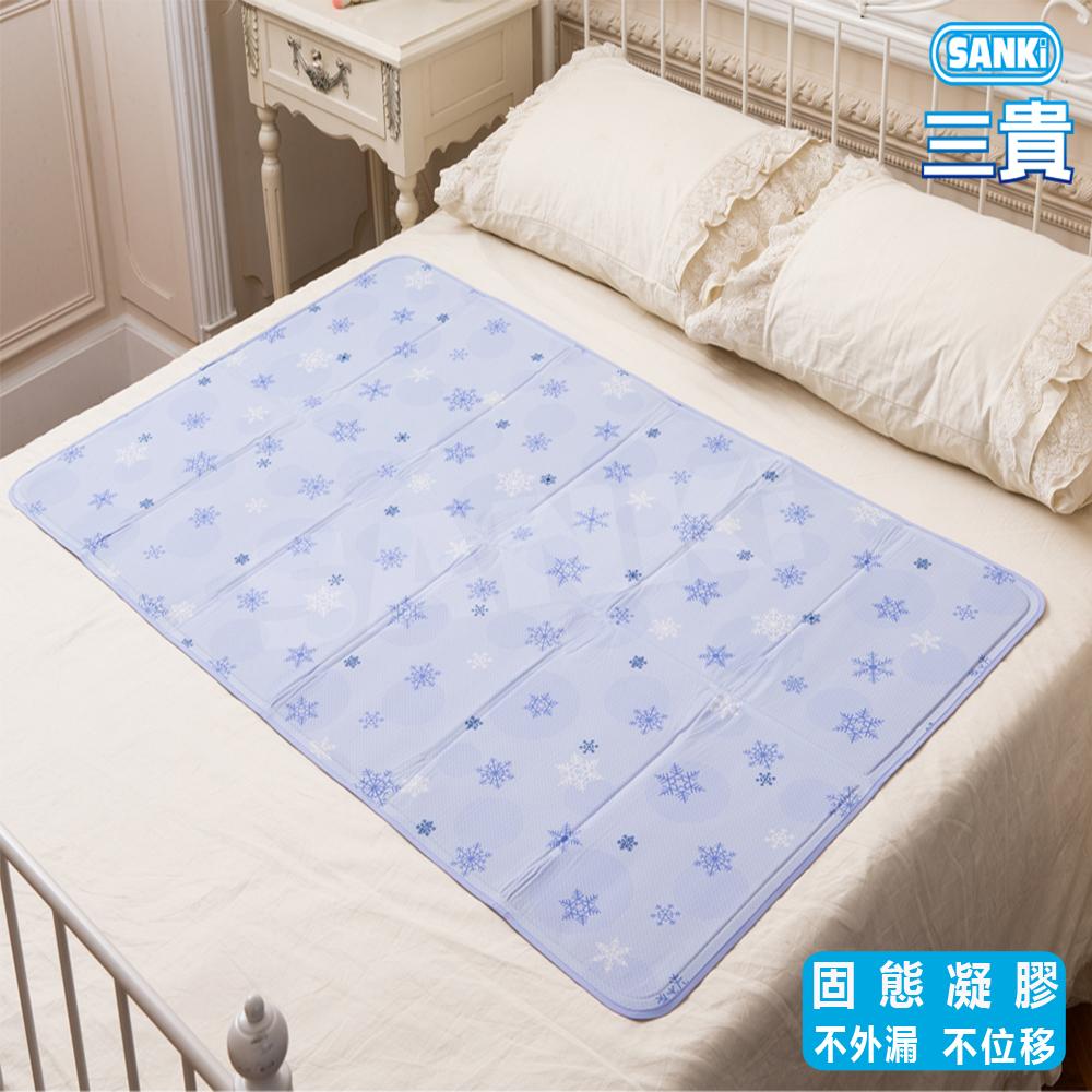 日本SANKi 雪花固態凝膠冰涼床墊1床 可選