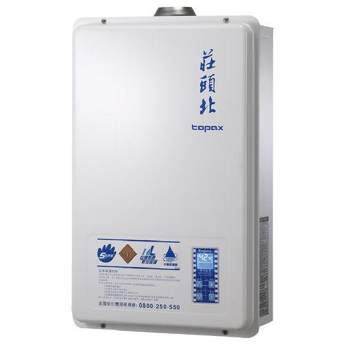 莊頭北 TH-7167AFE 屋內大廈型強制排氣數位恆溫型16L