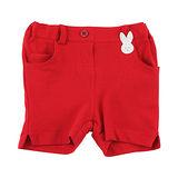 【愛的世界】pappa&ciccia 海灘小兔系列網眼休閒短褲/2~3歲-台灣製-