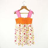 【愛的世界】MYBABY 水果百匯系列肩帶露背洋裝/4~6歲-台灣製-