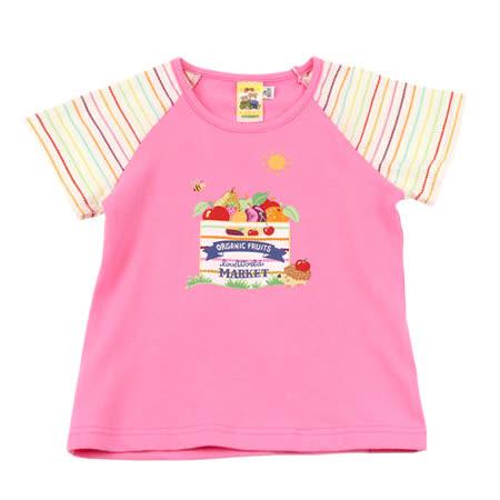 【愛的世界】MYBABY 水果百匯系列彈性圓領T恤/2~4歲-台灣製-