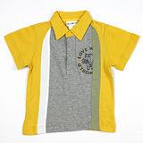 【愛的世界】LOVEWORLD 河馬系列河馬圖案純棉短袖POLO衫/6~8歲-台灣製-