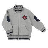 【愛的世界】pappa&ciccia 英倫學院系列保暖刷毛拉鍊外套/2~4歲-中國製-