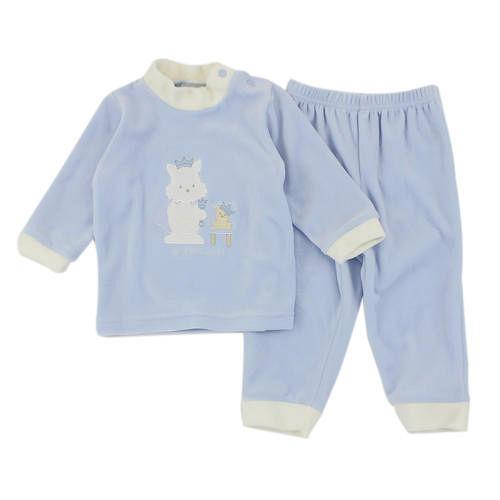 【愛的世界】pappa&ciccia 小王子系列剪絨長袖套裝/6個月~3歲-台灣製-