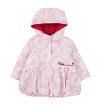 【愛的世界】LOVEWORLD 俄羅斯娃娃系列防風舖棉搖粒絨連帽外套/1~3歲-中國製-