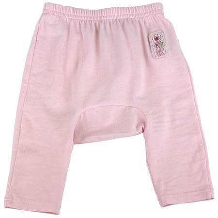 【愛的世界】MYBABY 櫻花系列彈性緊身長褲/3個月~1歲-台灣製-