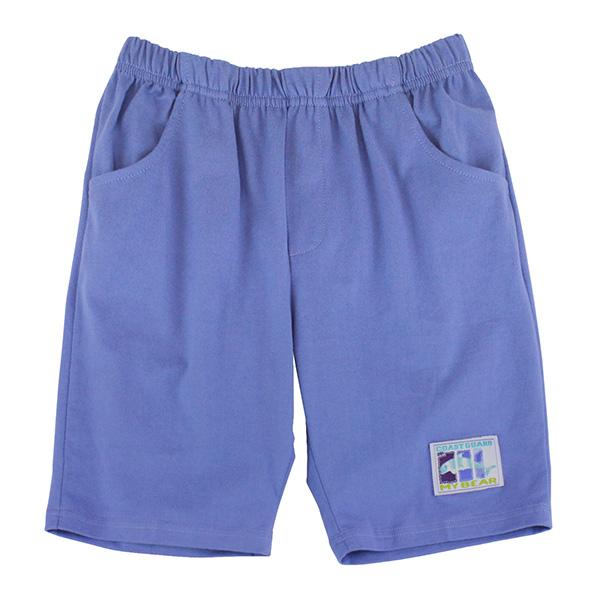 【愛的世界】MYBEAR 夏令營系列純棉鬆緊帶五分褲/8~12歲-台灣製-