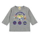 【愛的世界】MYBABY 越野賽系列純棉長袖上衣/8~10歲-台灣製-