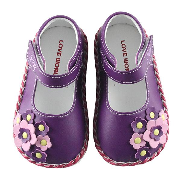 【愛的世界】LOVEWORLD 庭園寶寶鞋 學步鞋 13~15CM- 製-