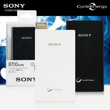 SONY 極輕巧掌上行動電源 8700mAh CP-V9 公司貨