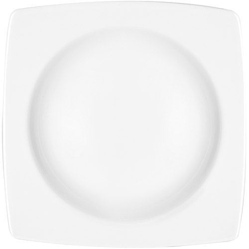 ~EXCELSA~白瓷圓底淺餐盤 方22cm