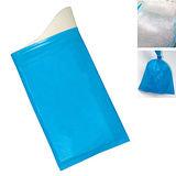 PUSH! 戶外休閒用品方便攜帶型尿袋集尿袋移動廁所(8入1組)J22