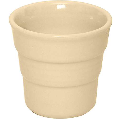 《EXCELSA》階紋手握咖啡杯 奶油黃