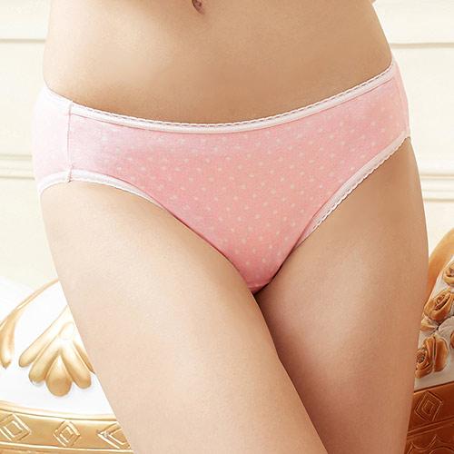 【EASY SHOP】芭比公主 低腰三角褲(芭比粉)