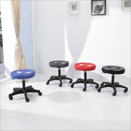 BuyJM厚8公分立體泡棉圓型旋轉椅/電腦椅