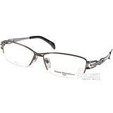 Masaki Matsushima光學眼鏡 β 鈦金屬半框款(槍銀) #MF1185 C05