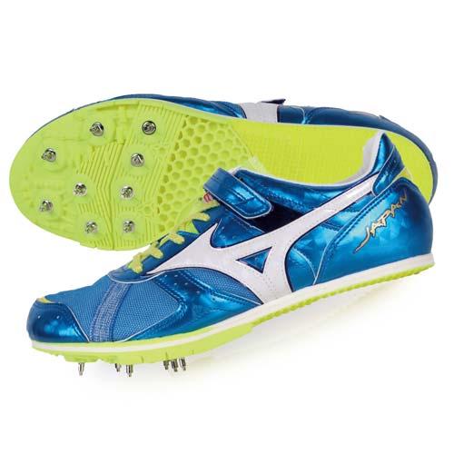 (男) MIZUNO FIELD GEO LJ JAPAN日製田徑釘鞋-競賽 寶藍白