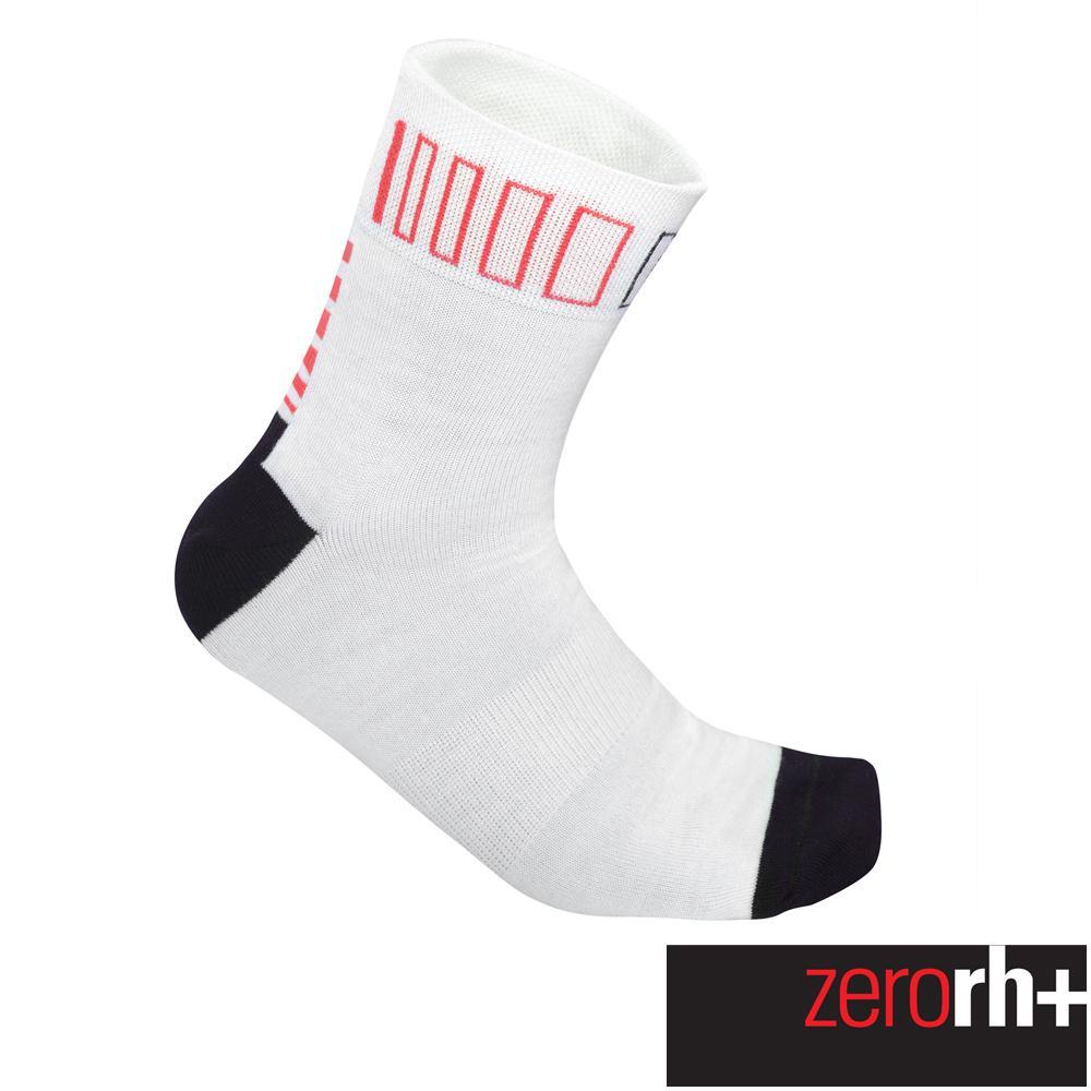 ZeroRH+ 義大利SPRINT高筒運動襪(13 cm) ●黑/紅、白色● ECX9086