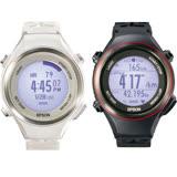 Epson Runsense SF-850 心率路跑教練智慧腕錶-疾風白