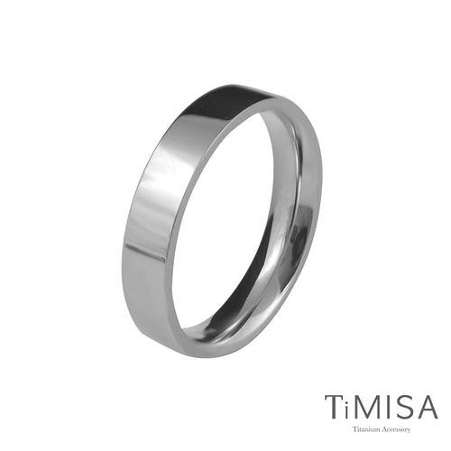 【TiMISA】簡約時尚-細版 純鈦戒指