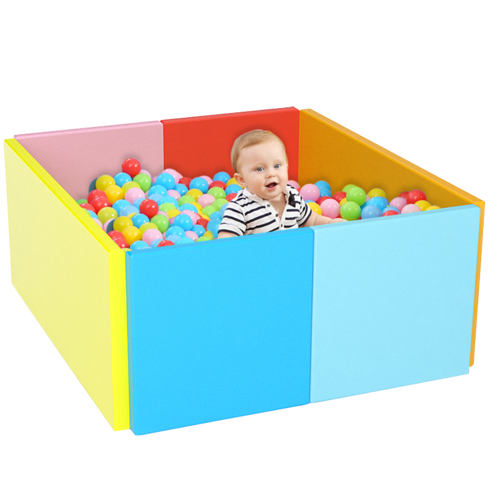 【Baby Safe】多功能遊戲圍欄/軟墊(8片裝、厚5cm)