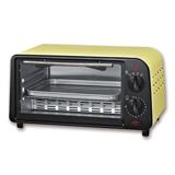 晶工牌9L鵝黃色小烤箱 JK-609