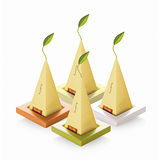 【Tea Forte】2入陶瓷方型茶托 Ceramic Tray