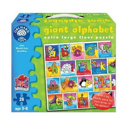 英國Orchard Toys 遊戲拼圖-字母拼拼看