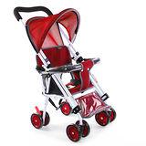 Yip baby 第二代可躺式機車椅推車956-紅色