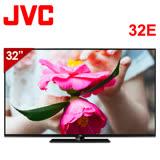【JVC】 32吋 LED液晶顯示器+視訊盒(32E)*送HDMI線