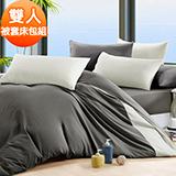 J-bedtime【芝麻慕斯】防蹣抗菌雙人四件式被套床包組(使用3M吸濕排汗藥劑)