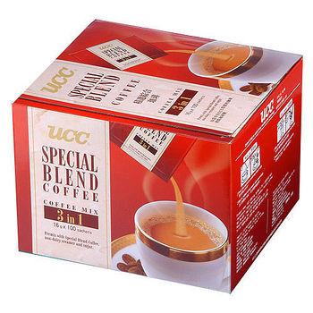 UCC3合1咖啡精裝盒-精選綜合16g*100   入【愛買】