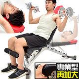 專業健身房飛鳥啞鈴椅C176-001 仰臥起坐板/健腹器
