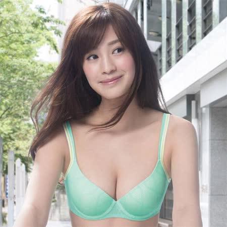 【華歌爾】城市輕運動COOL BRA D-E 罩杯內衣(陽光綠)
