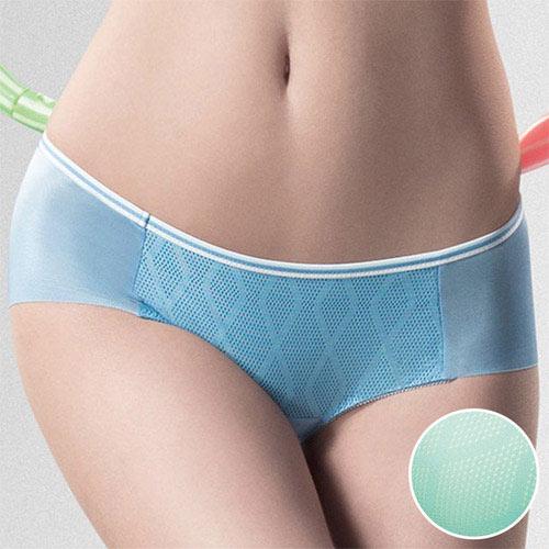 【華歌爾】城市輕運動COOL BRA M-LL中腰平口褲(陽光綠)