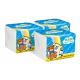 【Benibear 邦尼熊】單抽式柔拭紙巾300抽x72包/箱