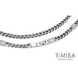 【TiMISA】舒適鈦鍺-G鍊款純鈦鍺項鍊-50cm