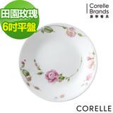 (任選) CORELLE 康寧田園玫瑰6吋平盤
