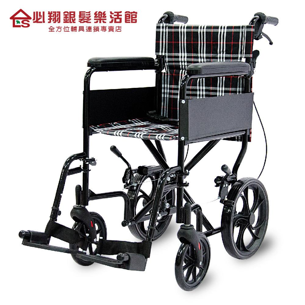 【必翔銀髮】經濟型看護輪椅 PH-163C(未滅菌)