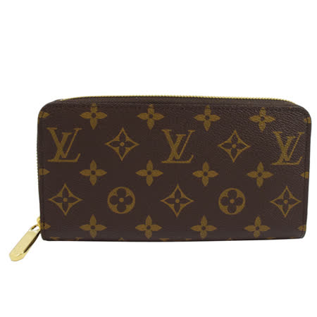 Louis Vuitton  新版經典花紋拉鍊長